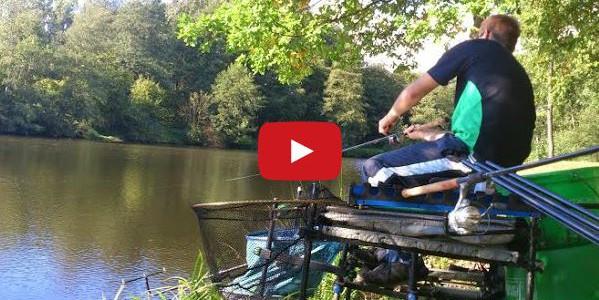 Brassen angeln mit der Matchrute